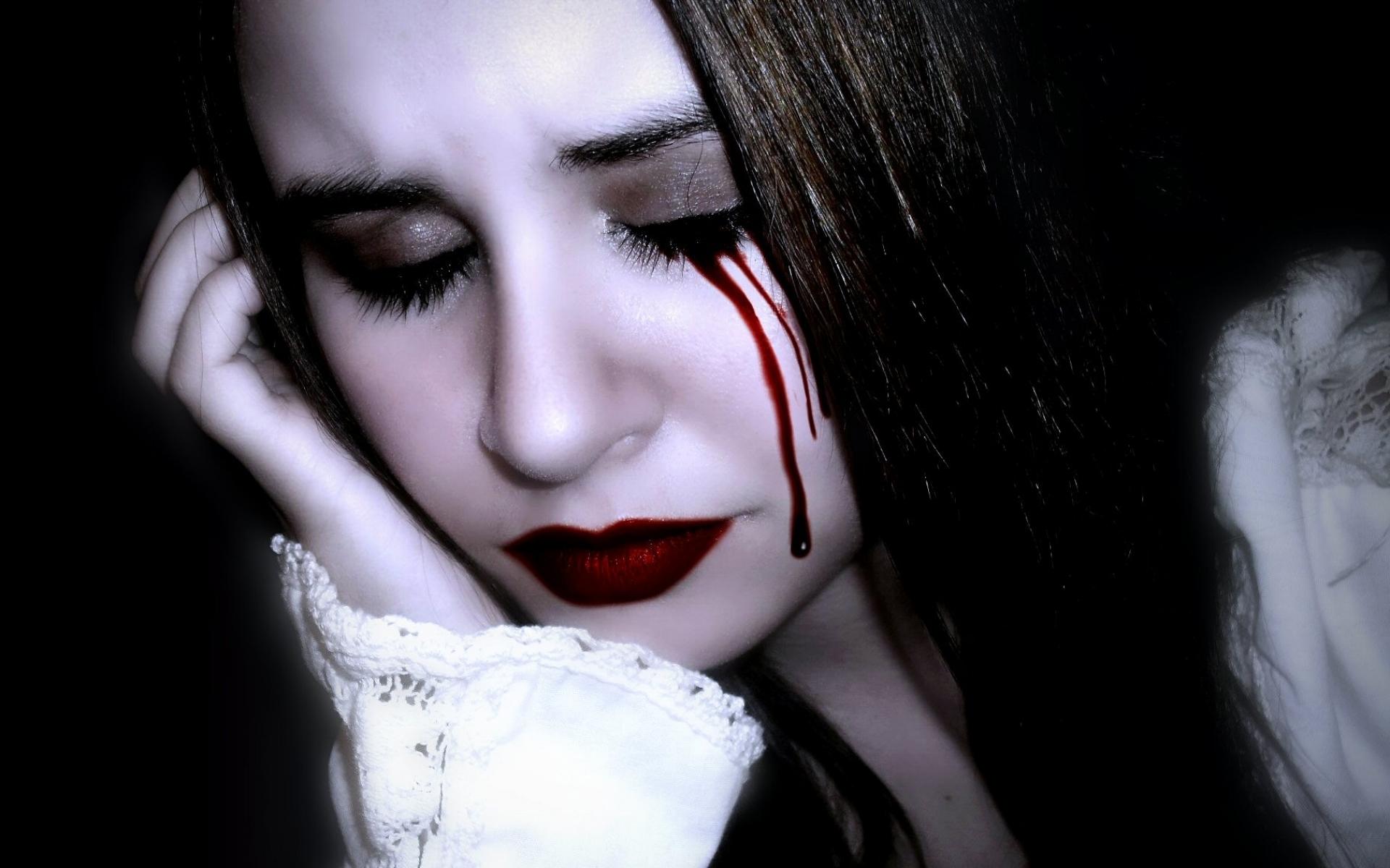 goth cry